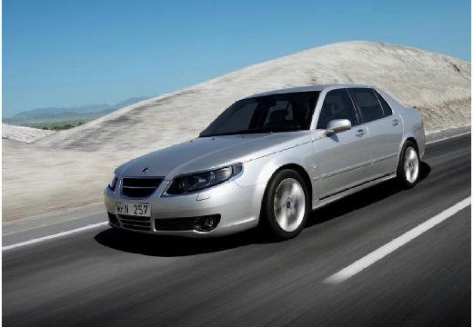 SAAB 9-5 III sedan silver grey przedni lewy