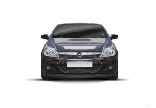 OPEL Astra TwinTop kabriolet czarny przedni