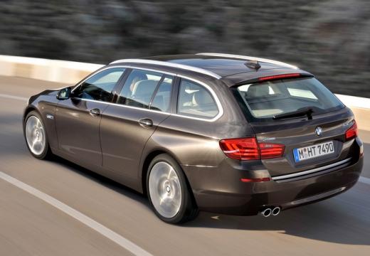 BMW Seria 5 Touring F11 II kombi brązowy tylny lewy