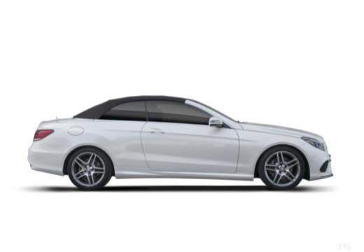 MERCEDES-BENZ Klasa E Cabrio A 207 II kabriolet boczny prawy