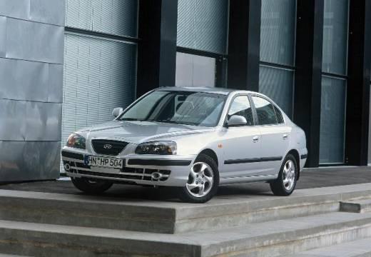 HYUNDAI Elantra II sedan silver grey przedni lewy