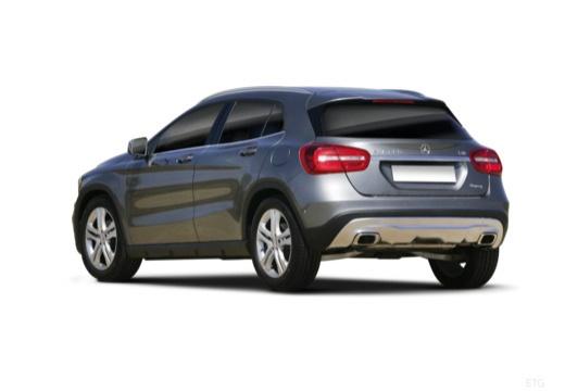 MERCEDES-BENZ Klasa GLA hatchback tylny lewy