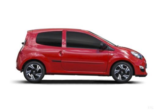 RENAULT Twingo V hatchback czerwony jasny boczny prawy
