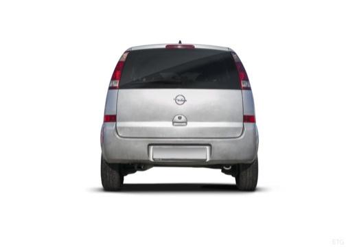 OPEL Meriva II hatchback tylny
