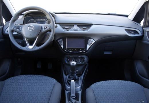 OPEL Corsa E hatchback czarny tablica rozdzielcza