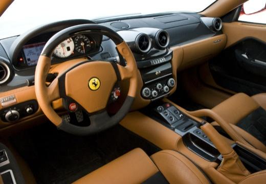FERRARI 599 I coupe czerwony jasny tablica rozdzielcza