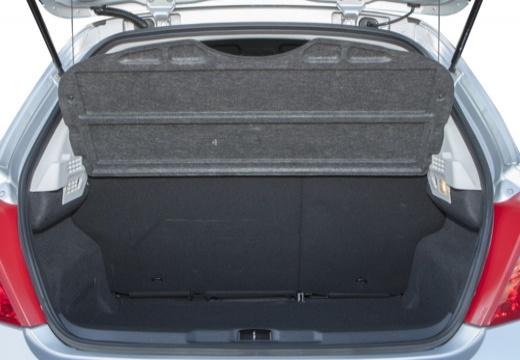 PEUGEOT 207 II hatchback przestrzeń załadunkowa