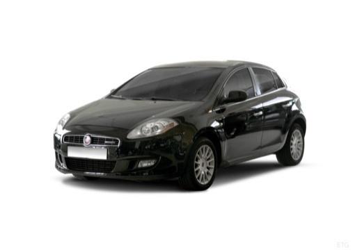 FIAT Bravo II hatchback czarny przedni lewy