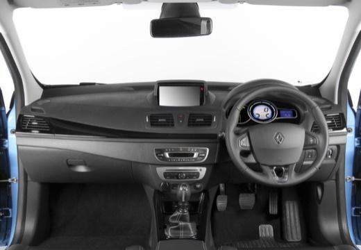 RENAULT Megane III III hatchback niebieski jasny tablica rozdzielcza