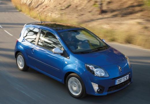 RENAULT Twingo IV hatchback niebieski jasny przedni prawy