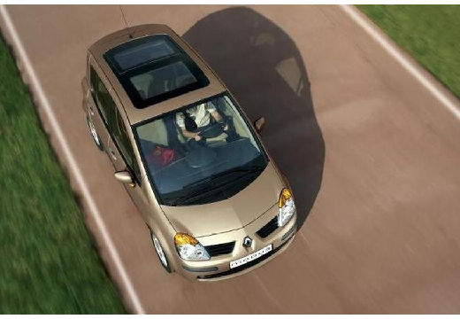 RENAULT Modus hatchback złoty inne