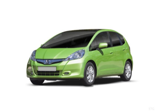 HONDA Jazz III hatchback zielony