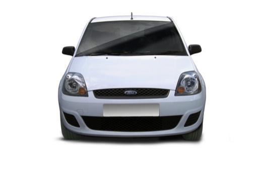 FORD Fiesta hatchback biały przedni