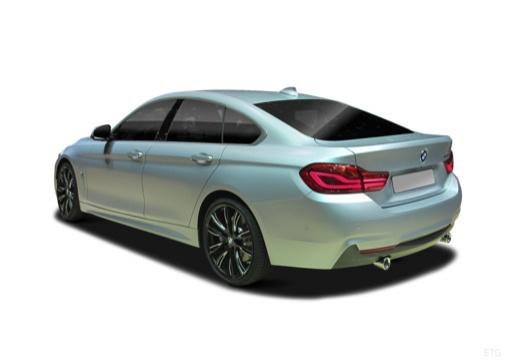 BMW Seria 4 Gran Coupe F36 II hatchback tylny lewy