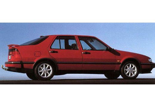 SAAB 9000 hatchback boczny prawy