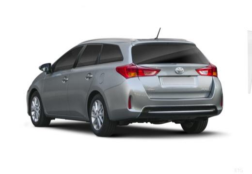 Toyota Auris kombi szary ciemny tylny lewy
