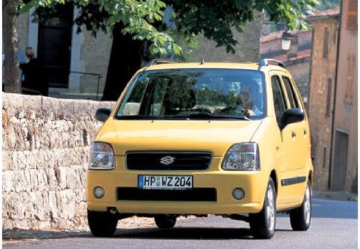 SUZUKI Wagon R+ II hatchback żółty przedni lewy
