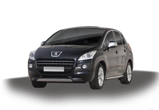 PEUGEOT 3008 I hatchback czarny