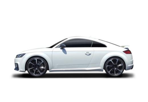 AUDI TT III coupe boczny lewy