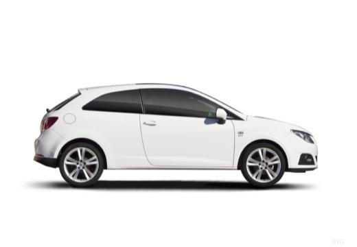 SEAT Ibiza V hatchback biały boczny prawy