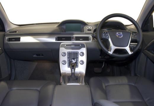 VOLVO S80 V sedan brązowy tablica rozdzielcza