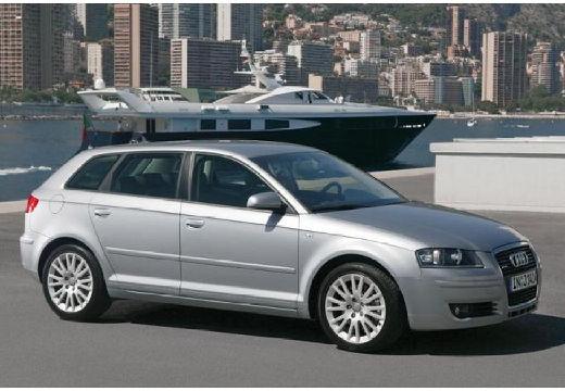 AUDI A3 Sportback I hatchback silver grey przedni prawy