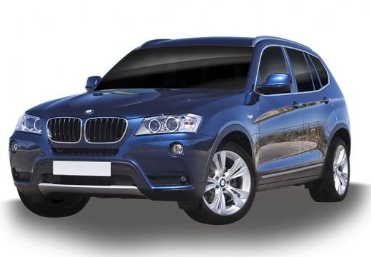 BMW X3 X 3 F25 I kombi niebieski jasny