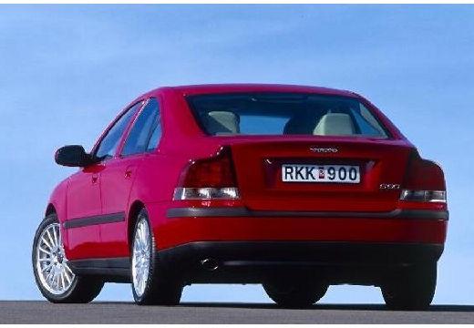 VOLVO S60 sedan czerwony jasny tylny lewy