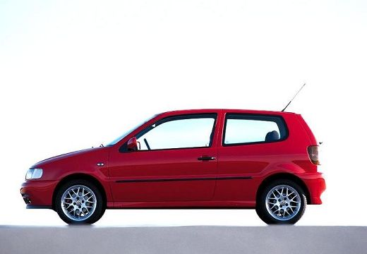 VOLKSWAGEN Polo III I hatchback czerwony jasny boczny lewy