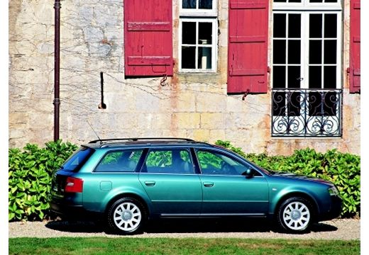 AUDI A6 /S6 Avant 4B I kombi zielony boczny prawy