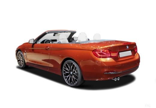 BMW Seria 4 Cabrio F33/F83 kabriolet tylny lewy