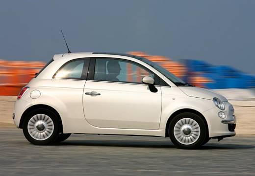 FIAT 500 I hatchback biały boczny prawy