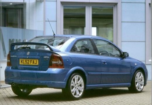 OPEL Astra II hatchback niebieski jasny tylny prawy