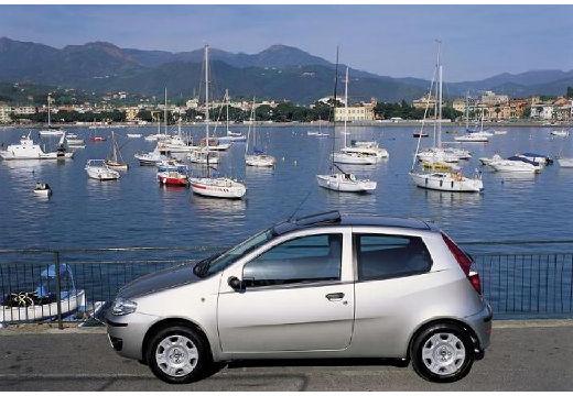 FIAT Punto II II hatchback silver grey boczny lewy