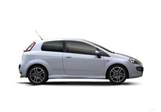 FIAT Punto Evo hatchback boczny prawy