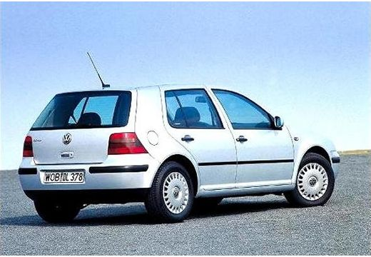 VOLKSWAGEN Golf IV hatchback silver grey tylny prawy