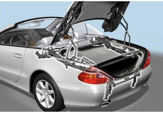 MERCEDES-BENZ Klasa SL SL 230 I roadster silver grey szczegółowe opcje