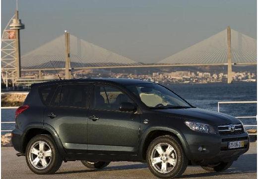 Toyota RAV4 IV kombi czarny przedni prawy