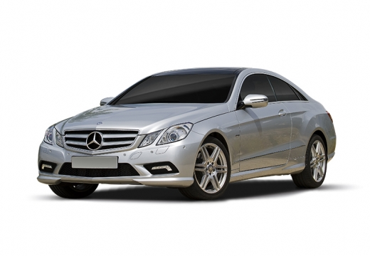 MERCEDES-BENZ Klasa E C 207 I coupe silver grey