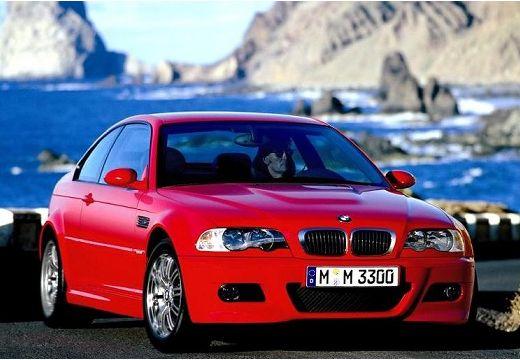 BMW Seria 3 coupe czerwony jasny przedni prawy