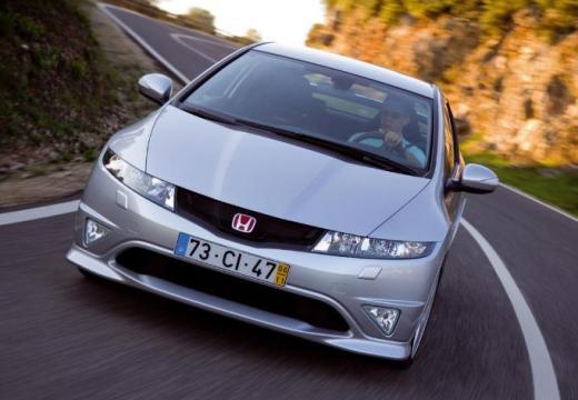 HONDA Civic VI hatchback silver grey przedni