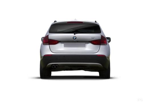 BMW X1 X 1 E84 I kombi silver grey tylny