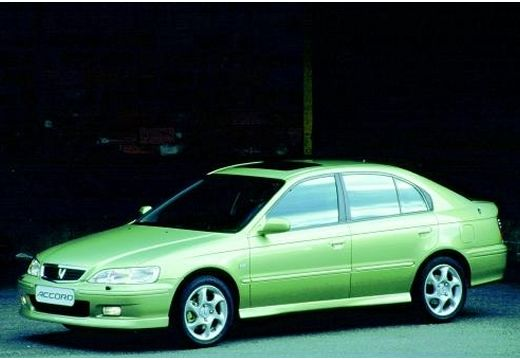 HONDA Accord Liftback hatchback zielony przedni lewy