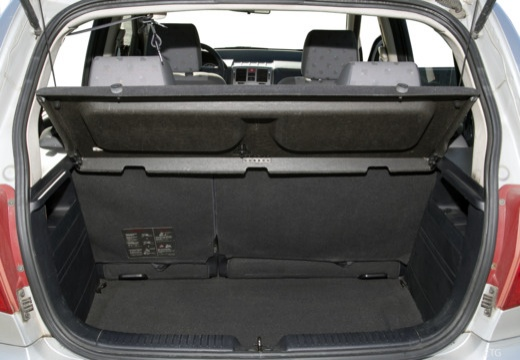 HYUNDAI Getz I hatchback przestrzeń załadunkowa
