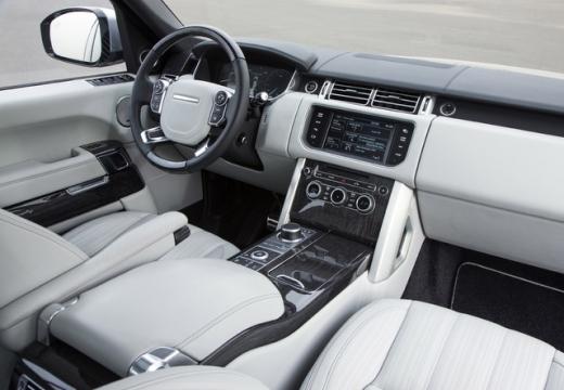 LAND ROVER Range Rover VI kombi tablica rozdzielcza