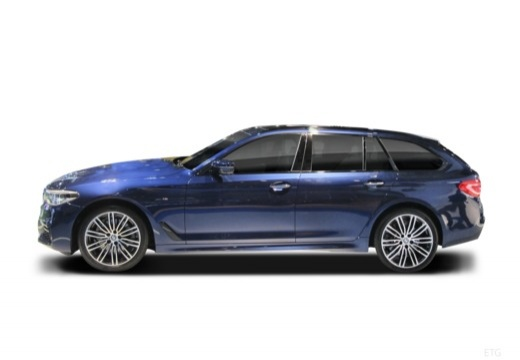 BMW Seria 5 Touring G31 kombi boczny lewy