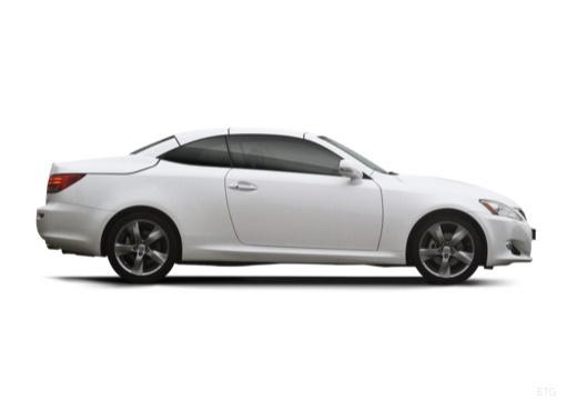 LEXUS IS C kabriolet biały boczny prawy