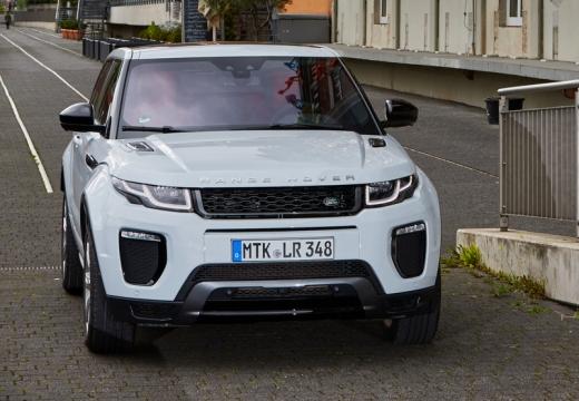 LAND ROVER Range Rover Evoque II kombi biały przedni prawy