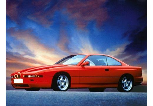 BMW Seria 8 coupe czerwony jasny boczny lewy