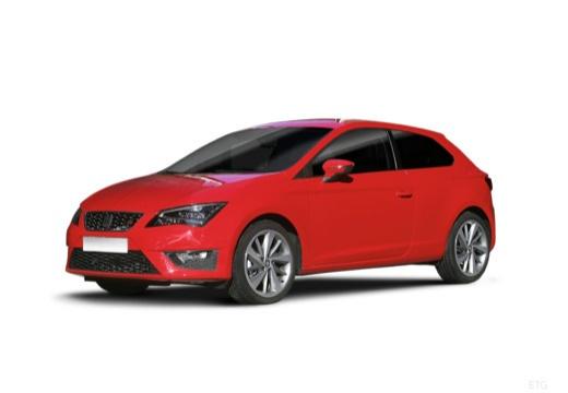 SEAT Leon IV hatchback czerwony jasny przedni lewy